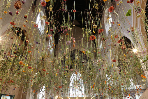Rebecca Louise Law | The Flower Garden Display'd | London 2014